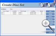Create Disc Sets