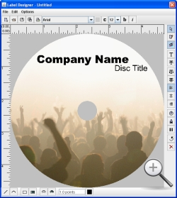 Disc Label Designer